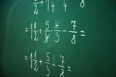 Calcualting with fractions