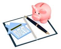 Calcul d'hypothèque Photos libres de droits