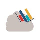 Calcul d'isolement de nuage et conception infographic Photos libres de droits