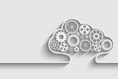 Calcul de nuage illustration de vecteur