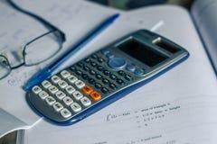 Calcul intégral Photo libre de droits