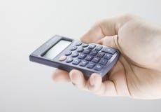 Calculadora à disposicão Imagem de Stock Royalty Free