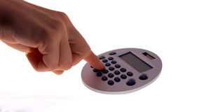 Calculadora 1 Imagem de Stock Royalty Free