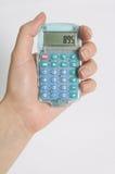 Calculadora. Fotos de archivo