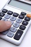 Calculadora Fotografia de Stock Royalty Free