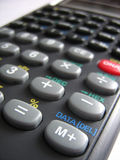 Calculadora Imagem de Stock