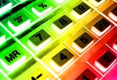Calculadora 3 foto de archivo libre de regalías