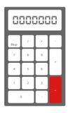 Calculadora Imagenes de archivo