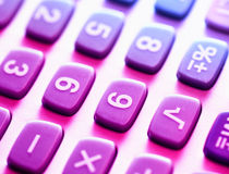 Calculadora Fotos de Stock Royalty Free