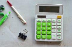 A calculadora Imagens de Stock
