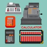Calculadora stock de ilustración