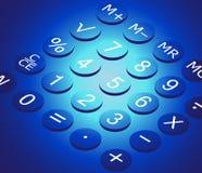 Calculadora ilustración del vector