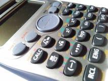 Calculadora científica foto de archivo