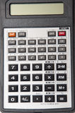 Calculadora científica no fundo branco Foto de Stock Royalty Free