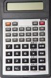 Calculadora científica en el fondo blanco Foto de archivo libre de regalías
