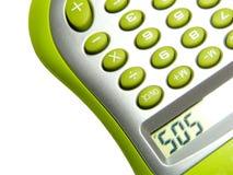 Calculadora com âsosâ da palavra Fotos de Stock Royalty Free
