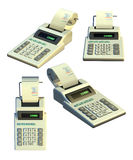 Calculadora da impressora Fotografia de Stock Royalty Free