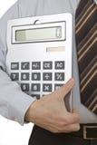 Calculadora de bolsillo imágenes de archivo libres de regalías