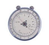 Calculadora de bolso antiquada Imagens de Stock