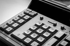 Calculadora de escritorio Foto de archivo libre de regalías