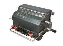 Calculadora de la vendimia fotografía de archivo