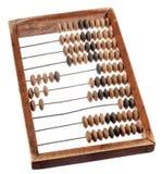 Calculadora de madeira retro Fotografia de Stock Royalty Free