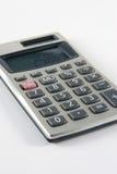 Calculadora de mano Imagen de archivo libre de regalías