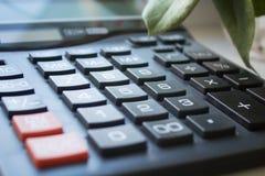 Calculadora del botón Fotos de archivo libres de regalías