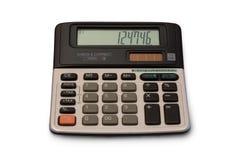 Calculadora del vintage aislada Fotografía de archivo libre de regalías