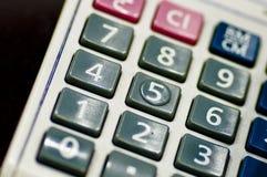 Calculadora - direita Imagem de Stock Royalty Free