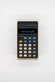 Calculadora do vintage Foto de Stock