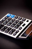 Calculadora electrónica Foto de archivo libre de regalías