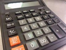 Calculadora electrónica Imágenes de archivo libres de regalías