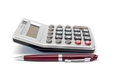 Calculadora eletrônica Fotografia de Stock