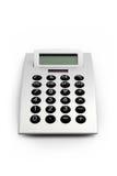 Calculadora eletrônica isolada imagem de stock royalty free