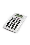 Calculadora eletrônica isolada Fotos de Stock Royalty Free