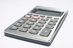 Calculadora en blanco Fotografía de archivo libre de regalías