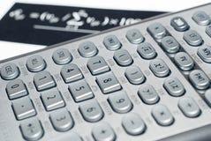 Calculadora financiera avanzada Fotografía de archivo