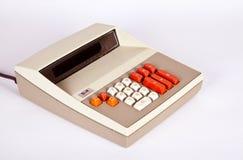 Calculadora grande del vintage Fotografía de archivo