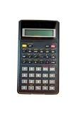 A calculadora isolada em um fundo branco Imagens de Stock