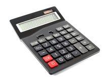 Calculadora isolada no fundo branco, fotos de stock royalty free