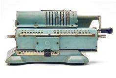 Calculadora mecánica Imagen de archivo