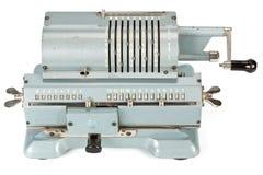 Calculadora mecánica de la vendimia Fotografía de archivo libre de regalías