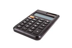 Calculadora negra Fotografía de archivo