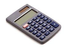 Calculadora no fundo branco com sombra Imagens de Stock Royalty Free