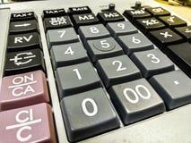 Calculadora para cálculos foto de stock