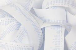 Calculadora para los costes, costos, réditos y foto de archivo libre de regalías