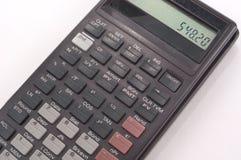 Calculadora portátil Fotografia de Stock