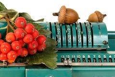 Calculadora velha Foto de Stock Royalty Free