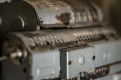Calculadora velha Imagens de Stock Royalty Free